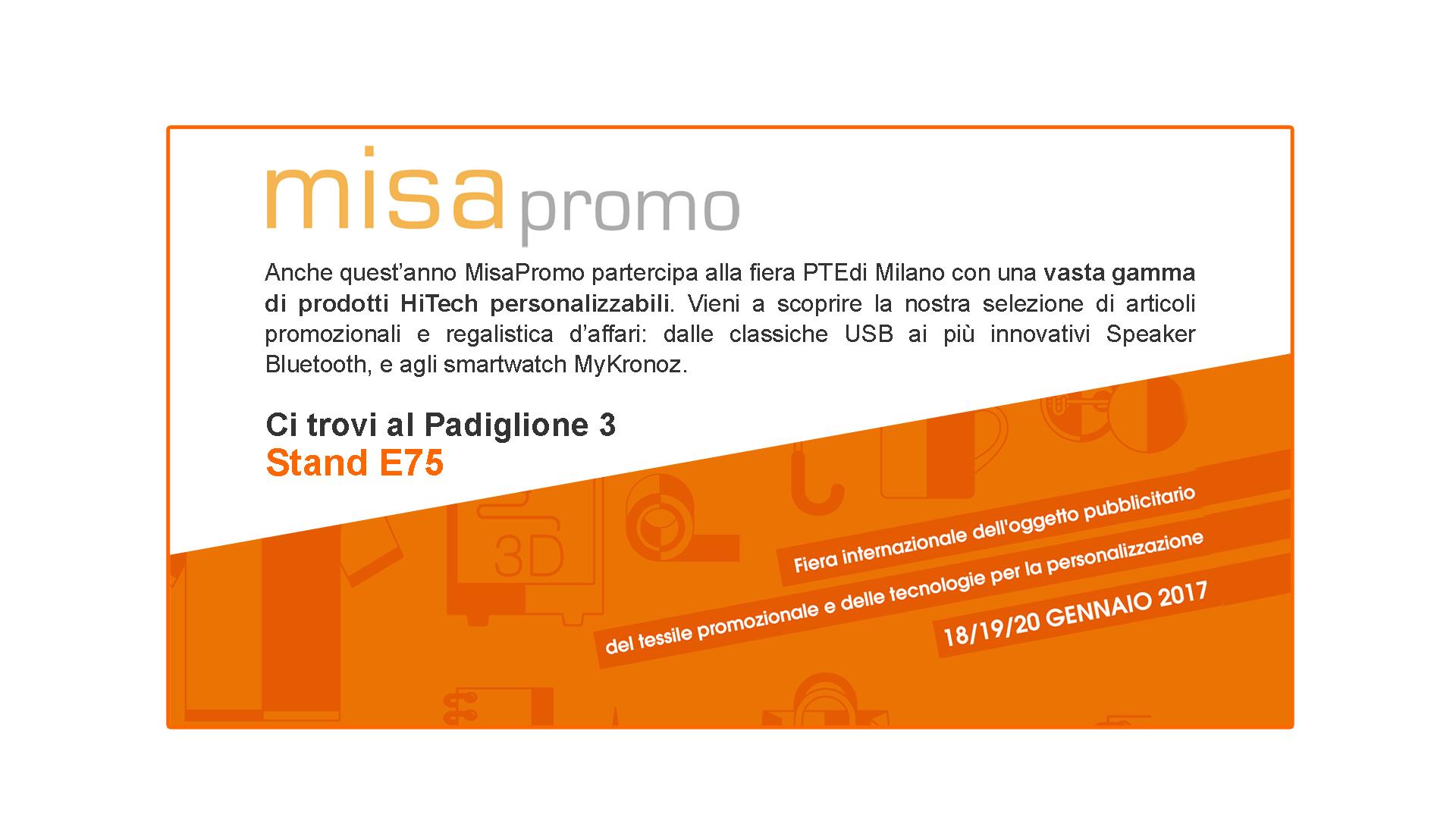 MisaPromo al PTE di Milano